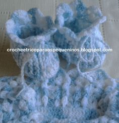 CROCHE E TRICO PARA OS PEQUENINOS: Casaquinho de crochê para bebe c/ receita