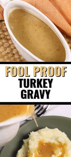 Best Turkey Gravy Recipe This easy turkey gravy recipe is a classic. It works whether or not you have pan drippings from a roasted turkey. easy turkey gravy recipe is a classic. It works whether or not you have pan drippings from a roasted turkey. Homemade Gravy Recipe, Homemade Turkey Gravy, Best Turkey Gravy, Making Turkey Gravy, Turkey Sauce, Turkey Chicken, Turkey Gravy Without Drippings, Chicken Gravy From Drippings, Beef Gravy Recipe