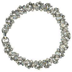 Crystal Braid Bracelet by Roberta Chiarella