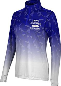 Womens College of San Mateo Community College Maya Half Zip Long Sleeve *** Check out the image by visiting the link.