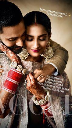Sonam Kapoor Wedding Inspiration By Vogue India