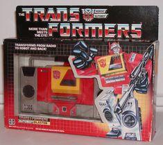 TRANSFORMERS - blaster