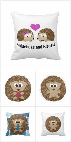 Hedgehog Pillows