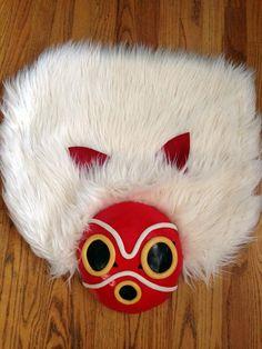 Princess Mononoke Mask Headdress Cosplay Custom Made Handmade Costume