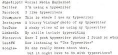 (BEST ONE!) maschinengeschrieben: Abgetippt: Social Media Explained - #SocialMedia #SocialMediaExplained