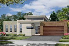 Single Storey House Plans Modern Single Storey House Designs, One Single Story House Plans 2017 15 On Home Contemporary House Plans, Modern House Plans, Modern House Design, Modern Houses, Flat Roof House, Facade House, House Facades, Modern Exterior, Exterior Design