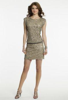 Short Blouson Dress from Camille La Vie