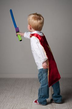 Super Hero or Princess Cape, reversible, you select colors, by Rugrat Design