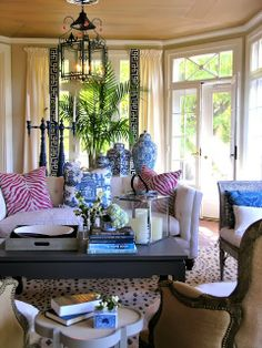 Chinoiserie Chic: Saturday Inspiration - Preppy Chinoiserie