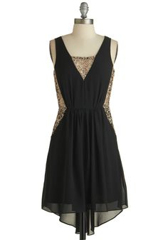 Celebration of Charm Dress. This item was picked by you in our Be the Buyer Program and will be sold exclusively online at ModCloth! #black #modcloth S