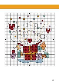 Cross Stitch Christmas Cards, Santa Cross Stitch, Mini Cross Stitch, Cross Stitch Books, Cross Stitch Cards, Cross Stitch Alphabet, Christmas Cross, Cross Stitching, Cross Stitch Embroidery