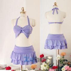 Cute two piece!<<< Does it have good support?!?!??!