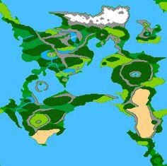 Final fantasy ii 2j overworld nintendo nes map bg dungeons and final fantasy ii 2 overworld poster map x for the nintendo nes famicom gumiabroncs Choice Image