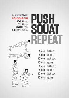 Squat workout 551128073140523656 - Visual Workouts Source by Push Up Workout, Full Body Workout Routine, Squat Workout, Workout Memes, Gym Workout Tips, Boxing Workout, Workout Challenge, Workout Schedule, Home Workout Men