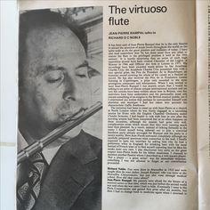 Jean-Pierre Rampal Interview 1980 1