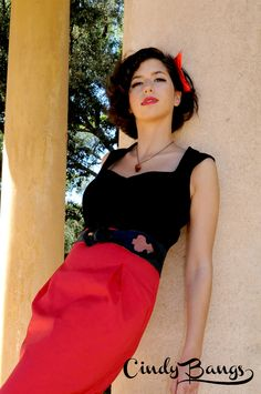 Maria Top & Marion skirt. s/s 2012
