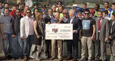Santa Anita Park, Sheikh Mansoor Racing Festival Donate $100,000 Jockeys Fund    Read more http://www.pasadenanow.com/main/santa-anita-park-sheikh-mansoor-racing-festival-donate-100000-jockeys-fund/#.VwJqQ6QrLIU