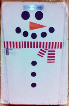 Christmas Snowman DIY Crafts