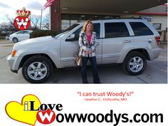 """I can trust Woody's"