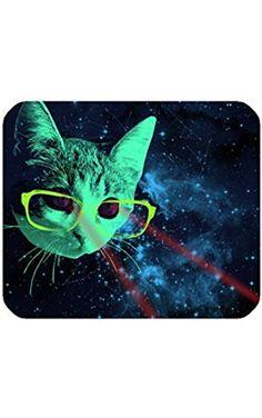 "Custom Mouse Pad Mouse Mat 9.84""(L)x7.87""(H) Space Cat Print. ❤ Ninenice"