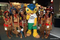 Mascot named 'Fuleco' for 2014 World Cup Brazil - China.org.cn