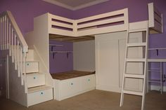 kids storage bed - Google Search