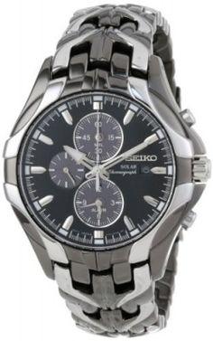 Relógio Seiko Men's SSC139 Excelsior Solar Chronograph Japanese Quartz Watch #relogio #seiko