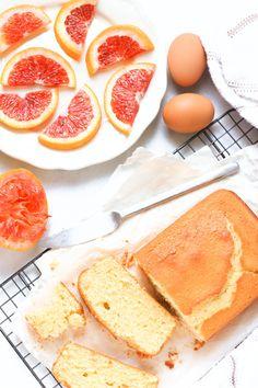 All about this Gluten-free Blood Orange Cake made with creamy Greek Yogurt! Via @dishbydish