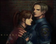 Resident Evil Leon and Claire   fallenraziel » Photos » ~ RESIDENT EVIL ~ » Leon & Claire