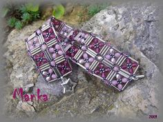 """What an elegant design! This would look great in many different color combinations. """"Diana"""" by Manka."""