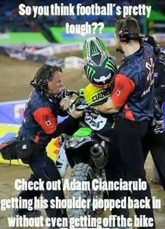 For the sweet love of MOTOCROSS! Our ultimate list of motocross quotes are dirty, funny, serious and always true. Check out our favorite motocross sayings Dirtbike Memes, Motocross Funny, Motocross Quotes, Dirt Bike Quotes, Motocross Love, Motorcycle Memes, Biker Quotes, Girl Motorcycle, Dirt Bike Racing