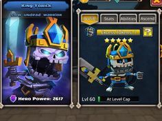 Does anyone have a Yorick higher than - Dungeon Boss Dungeon Boss, Hero