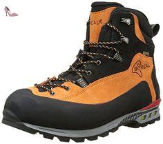 Boreal Brenta – Chaussures de montagne unisexe orange et noir, taille 12.5  - Chaussures boreal