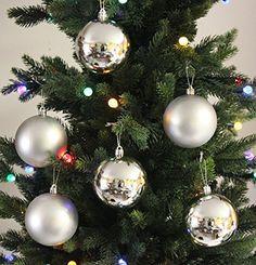 6pk 80mm Shatterproof Silver Christmas Ball Ornament Decorations GiftGuys http://www.amazon.com/dp/B00MBV0ZGA/ref=cm_sw_r_pi_dp_Iy0xwb0FNGZJK