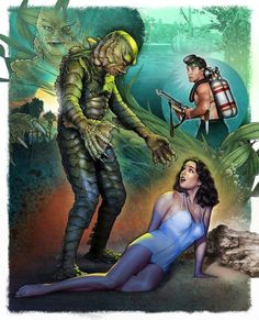 Creature From The Black Lagoon by Christopher Franchi