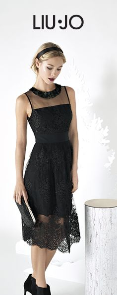 Gift idea: lace dress and ankle boots