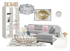"""Livingsroom"" by cornelia-smrecki on Polyvore featuring interior, interiors, interior design, home, home decor, interior decorating, Vita Copenhagen, Oliver Gal Artist Co., Laura Ashley and The Perfumer's Story by Azzi"
