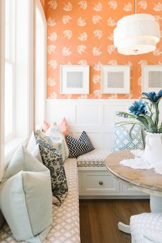 I hope to have a banquette, I love the paneling in this one.Dream Home Tour - Day One