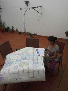 """#memoriasdeunmapa Emprendiendo... """"por hoy"""". En La vecindad Vital, Salta, Argentina"""
