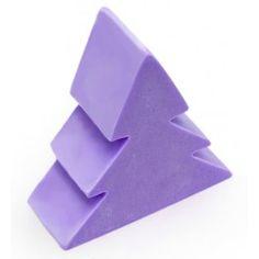 Molde para velas, Árbol de Navidad 2D. Molde de silicona para hacer manualidades de navidad, velas, figuaras, etc. DIY. Disponible en Gran Velada.
