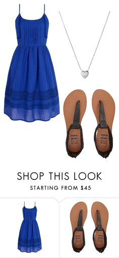 """relaxing blue outfit"" by abbylud on Polyvore featuring Yumi, Billabong and Links of London"