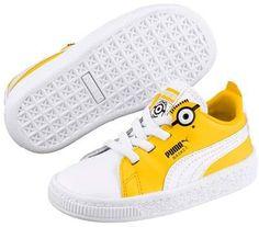 df65ddd71a843 Puma Minions Basket Sneaker (Baby   Little Kid) Chaussures De Sport Pour  Bébés