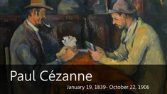 Cezanne Biography from Goodbye-Art Academy