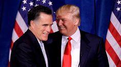 Im Wahlkampf 2012 hat Trump Romney unterstützt. Vier Jahre später sah Romney Trump als Gefahr für Amerika.