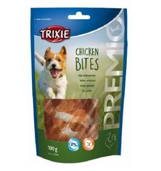 PREMIO CHICKEN BITES 100 GR  #petshouseacerra    2,70 €    Clicca sul link -> https://www.pets-house.it/snack/4956-premio-chicken-bites-100-gr-4011905315331.html