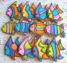 decorated cookies these fish cookies are amazing