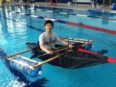Duct tape kayak