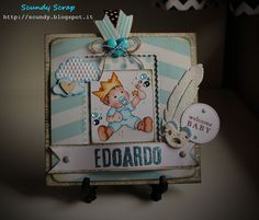 Scundy Scrap and Handmade: New born card