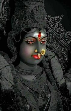 Maa Durga is arriving at our home to bless us for next Nine day of Nauratri, we Hartley invite you and your family to our home for Durga Maa blessings. Shiva Hindu, Shiva Shakti, Hindu Deities, Kali Shiva, Durga Puja, Maa Durga Photo, Maa Durga Image, Shiva Parvati Images, Durga Images