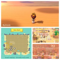 Animal Crossing Guide, Animal Crossing Qr Codes Clothes, Animal Crossing Pocket Camp, King Tut Mask, Ac New Leaf, Desert Design, Motifs Animal, Folk, Decor Inspiration